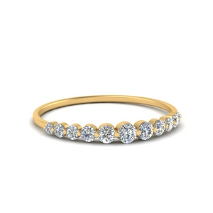 Diamond Single Prong Band