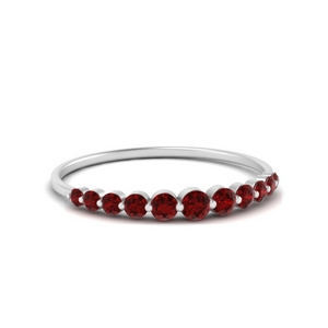 Ruby Single Prong Band