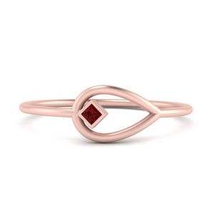 Negative Space Simple Ring