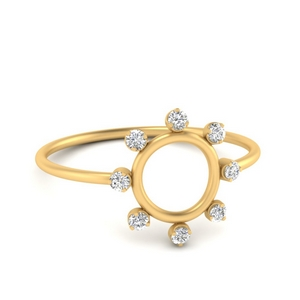 Open Circle Stackable Ring