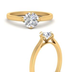 Compass Point Lab Diamond Ring