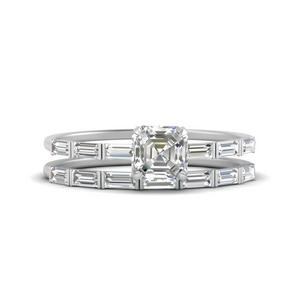baguette-asscher-cut-wedding-band-sets-in-FD9579AS-NL-WG