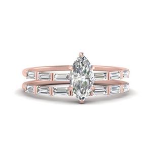 baguette-marquise-cut-wedding-band-sets-in-FD9579MQ-NL-RG