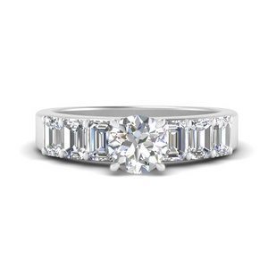 emerald-accent-luxury-round-cut-diamond-ring-in-FD9591ROR-NL-WG