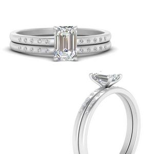 scattered-bezel-emerald-cut-wedding-ring-sets-in-FD9593EMANGLE3-NL-WG