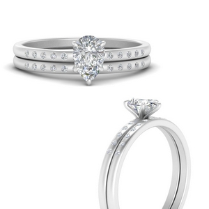 scattered-bezel-pear-shaped-wedding-ring-sets-in-FD9593PEANGLE3-NL-WG