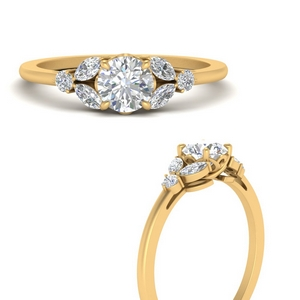 round-moissanite-nature-inspired-diamond-ring-in-FD9607RORANGLE3-NL-YG