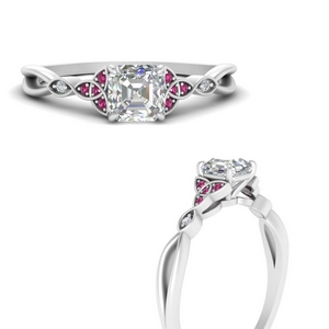 celtic-knot-split-asscher-cut-diamond-engagement-ring-with-pink-sapphire-in-FD9609ASRGSADRPIANGLE3-NL-WG