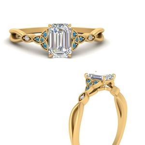 celtic-knot-split-emerald-cut-diamond-engagement-ring-with-blue-topaz-in-FD9609EMRGICBLTOANGLE3-NL-YG