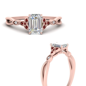 vintage-irish-knot-emerald-cut-diamond-engagement-ring-with-ruby-in-FD9609EMRGRUDRANGLE3-NL-RG