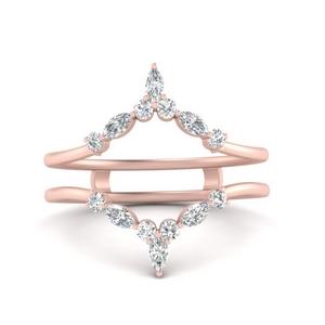 Crown Diamond Ring Guard