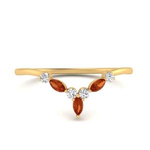 crown-marquise-orange-sapphire-and-round-diamond-band-in-FD9612BGSAOR-NL-YG