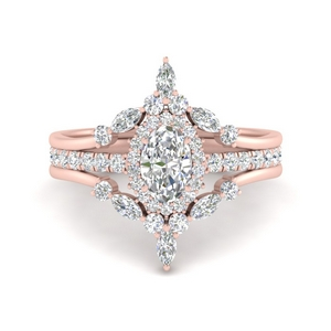 oval-halo-crown-diamond-wedding-ring-set-in-FD9612OV-NL-RG