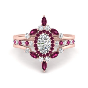 oval-halo-crown-pink-sapphire-wedding-ring-set-in-FD9612OVGSADRPI-NL-RG