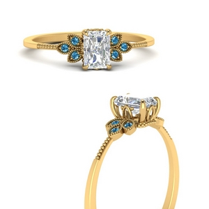 leaf-diamond-radiant-engagement-ring-with-blue-topaz-in-FD9615RARGICBLTOANGLE3-NL-YG