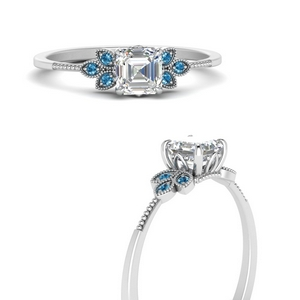 leaf-diamond-asscher-engagement-ring-with-blue-topaz-in-FD9615ASRGICBLTOANGLE3-NL-WG