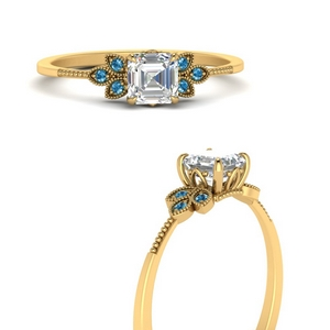 leaf-diamond-asscher-engagement-ring-with-blue-topaz-in-FD9615ASRGICBLTOANGLE3-NL-YG