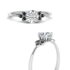 leaf-round-engagement-ring-with-black-diamond-in-FD9615RORGBLACKANGLE3-NL-WG