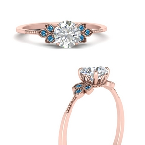 leaf-diamond-round-engagement-ring-with-blue-topaz-in-FD9615RORGICBLTOANGLE3-NL-RG
