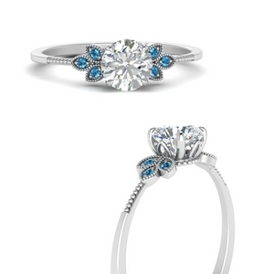 leaf-diamond-round-engagement-ring-with-blue-topaz-in-FD9615RORGICBLTOANGLE3-NL-WG