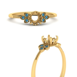 leaf-semi-mount-engagement-ring-blue-topaz-in-FD9615SMRGICBLTOANGLE3-NL-YG