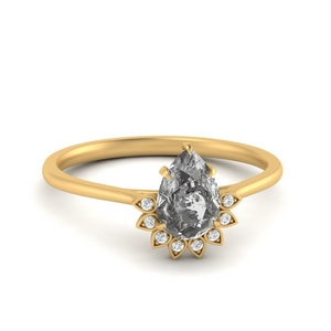 Crown Salt And Pepper Ring