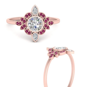 Pink Sapphire Rings