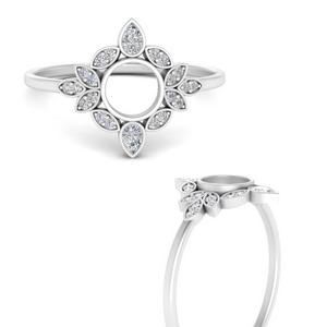semi-mount-bezel-vintage-floral-diamond-engagement-ring-in-FD9630SMRANGLE3-NL-WG