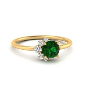antique-round-emerald-ring-in-FD9632RORGEMGR-NL-YG