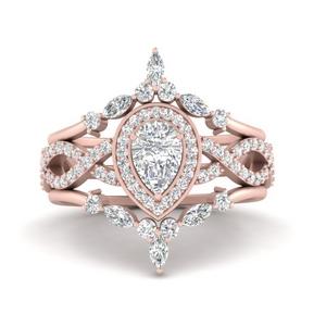 twisted-pear-shape-diamond-wedding-set-in-FD9653PE-NL-RG