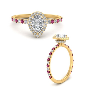 pear-shaped-double-under-halo-micropave-engagement-ring-with-pink-sapphire-in-FD9654PERGSADRPIANGLE3-NL-YG