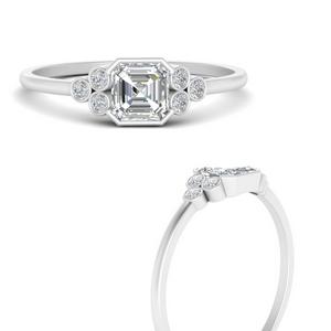 bezel-set-petite-asscher-cut-diamond-engagement-ring-in-FD9660ASRANGLE3-NL-WG