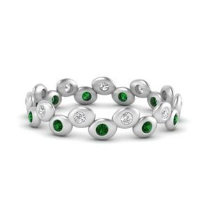 bezel-set-eternity-stacking-diamond-band-with-emerald-in-FD9676BGEMGR-NL-WG