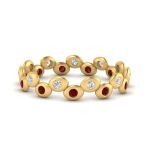Ruby Eternity Stacking Band