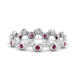 bezel-set-eternity-stacking-diamond-band-with-pink-sapphire-in-FD9676BGSADRPI-NL-WG