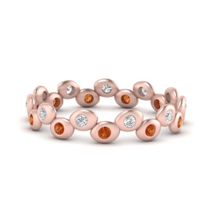 bezel-set-eternity-stacking-diamond-band-with-orange-sapphire-in-FD9676BGSAOR-NL-RG