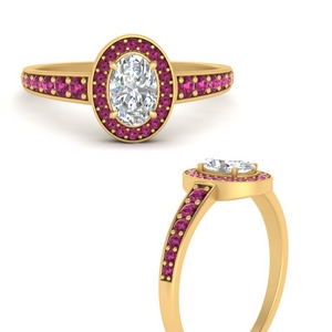 graduated-oval-halo-pink-sapphire-engagement-ring-in-FD9698OVRGSADRPIANGLE3-NL-YG-GS