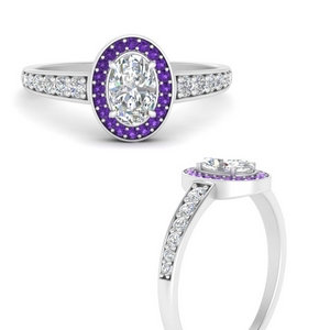 halo-oval-tapered-shank-diamond-engagement-ring-with-purple-topaz-in-FD9698OVRGVITOANGLE3-NL-WG