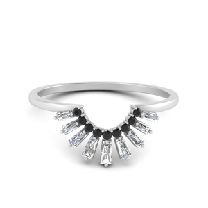baguette-grown-curved-black-diamond-wedding-band-in-FD9699BGBLACK-NL-WG