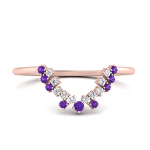 curved-band-for-oval-diamond-ring-with-purple-topaz-in-FD9700BGVITO-NL-RG