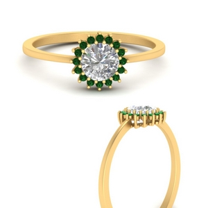 sunflower-round-halo-emerald-engagement-ring-in-FD9704RORGEMGRANGLE3-NL-YG