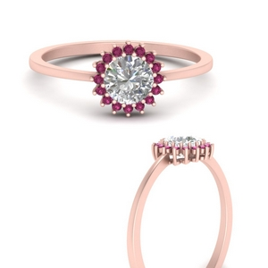 sunflower-round-halo-pink-sapphire-engagement-ring-in-FD9704RORGSADRPIANGLE3-NL-RG
