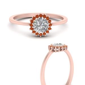 sunflower-round-halo-orange-sapphire-engagement-ring-in-FD9704RORGSAORANGLE3-NL-RG