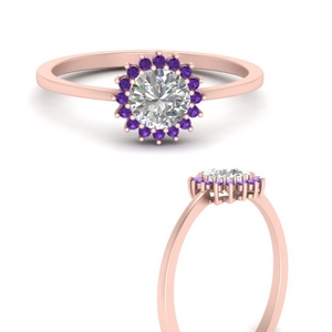 sunflower-round-halo-purple-topaz-engagement-ring-in-FD9704RORGVITOANGLE3-NL-RG