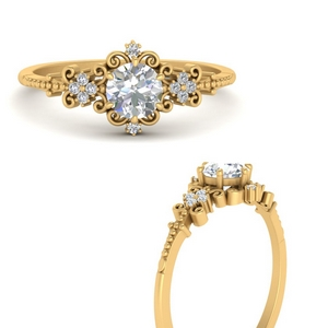 Delicate Art Deco Diamond Ring