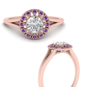 georgian-round-halo-purple-topaz-engagement-ring-in-FD9718RORGVITOANGLE3-NL-RG