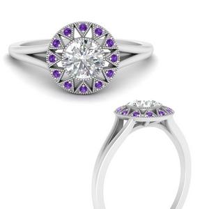 georgian-round-halo-purple-topaz-engagement-ring-in-FD9718RORGVITOANGLE3-NL-WG
