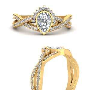 bezel-set-pear-split-band-crown-diamond-engagement-ring-in-FD9734PERANGLE3-NL-YG