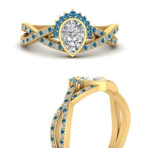 bezel-set-pear-split-band-crown-blue-topaz-engagement-ring-in-FD9734PERGICBLTOANGLE3-NL-YG