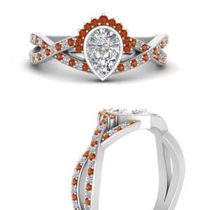 bezel-set-pear-split-band-crown-orange-sapphire-engagement-ring-in-FD9734PERGSAORANGLE3-NL-WG